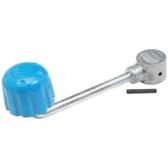 Replacement jockey wheel handle
