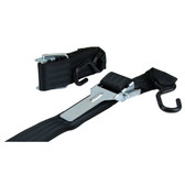 Cadmium plated steel over lever hook to hook ratchet tie down