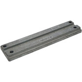 Zinc anode outboard plate 192mm