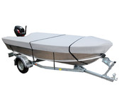 Tinnie Boat Cover - Grey