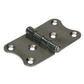 Pressed stainless steel strap hinge 304 stainless steel