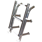 4 rung open top ladder stainless steel 47270