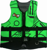Foam - Approved Neoprene Life Vest - L50S Adult Green