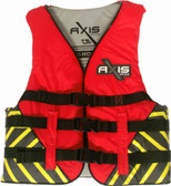 Foam - Approved Nylon Life Vest - L50S Child and Junior Red