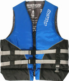 Foam - Approved Cyclone Nylon Life Vest - L50S Blue