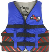 Foam - Approved Nylon Life Vest - L50S Child and Junior Blue