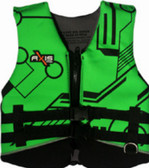 Foam - Approved Neoprene Life Vest - L50S Child and Junior Green