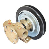 Series 50080 1 Inch BSP Port Electric Clutch Pumps - 2A Pulley