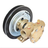 Series 50080 1 Inch BSP Port Electric Clutch Pumps - 1B Pulley