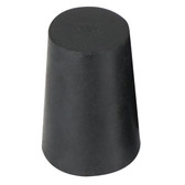 Black rubber bung