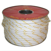Polyester Double Braid Yacht Rope - Flecked - 12mm