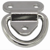 Folding Eye Plates - Stainless Steel