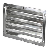 Stainless steel louvre vent