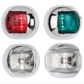 LED Orsa Navigation Lights - Chrome