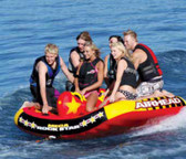 Airhead Tube - Mega Rock Star - 6 Person