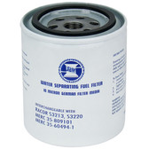 Water fuel separating filters 10 micron 37314