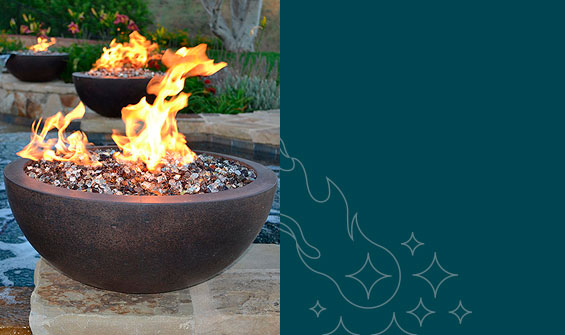 Fire Pit Burners and Accessories