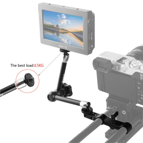 SMALLRIG Articulating Arm (10'') With 15mm Rod Clamp 1536