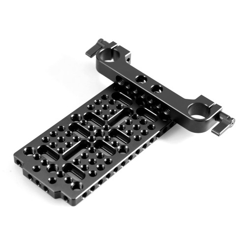 SMALLRIG Multi-purpose Cheese Plate with 19mm Rail Block 1707