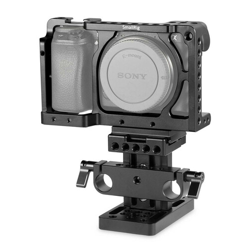 SmallRig Sony A6000/A6300/A6500 ILCE-6000/ILCE-6300/ILCE-6500/ NEX7 Cage Kit (Arca Swiss) 1727