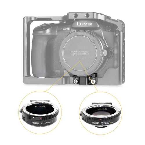 SmallRig Lens Adapter Support for Panasonic Lumix GH5 2016
