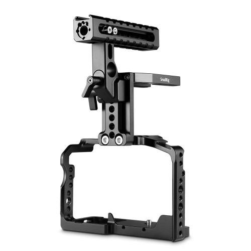 SmallRig Cage with Helmet Kit for Panasonic Lumix GH5/DMW-XLR1 2052
