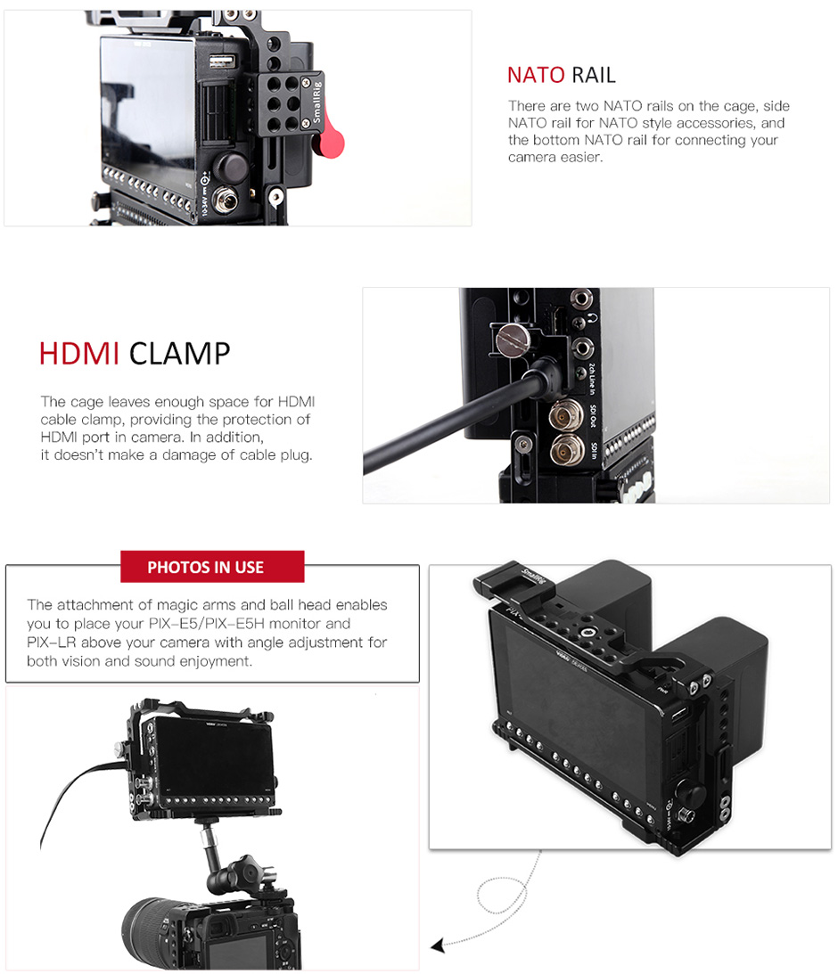 Cage for PIX-E5