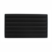 Flocked Tray Liner 6-Section Insert Black