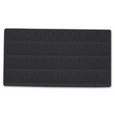 Flocked Earring Tray Liner Insert Black