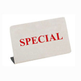 "Metal Showcase Sign ""Special"""