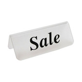 "Acrylic Frosted Sign ""Sale"""