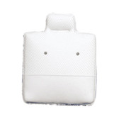 "100 Puff Earring Pads 1 x 1"" White"