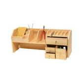 Multi-Function Small Benchtop Tool Organizer