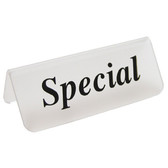 "Acrylic Frosted Sign ""Special"""