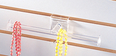 Acrylic Bracele Necklace Display T-Bar For Slatwall