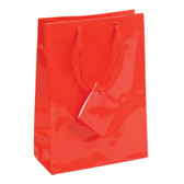 "Jewelry Gift Shopping Tote Bag Red 8""x4""x10"" (10)"