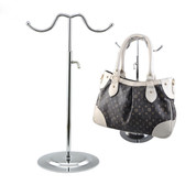 Metal Handbag Purse Hanger Display 2 Hooks