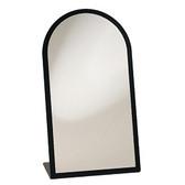 L-type Black Frame Glass Mirror