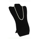 """Necklace Display Easel Board 14""""H Black Velvet"""