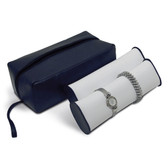 Watch Bangle Tube Display Carrying Case Leatherette