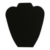 "Necklace Chain Display Easel 8.5"" Tall Black Velvet"