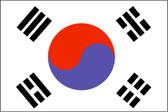 Korea Country Flag 3X5 Feet