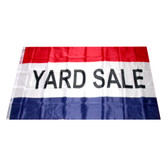 Yard Sale Flag Banner 3x5 Feet