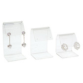 3-Pc Acrylic Earring Display Set