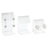 3-Pc Acrylic Earring Display Set