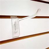 """100 Slatwall Hook Plastic Pegs 4"""""""