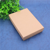 "100 Jewelry Box 6"" x 4"" x 1""H Foam Insert Kraft"