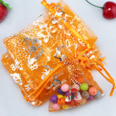 "100 Organza Jewelry Bag Gift Pouch 3.5X4.5"" Butterfly"