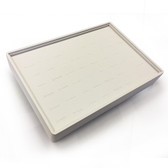 Stackable Showcase Tray Ring 56-Slot White