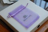 "Custom Logo Print Organza Pouch Bag 4""x6"""